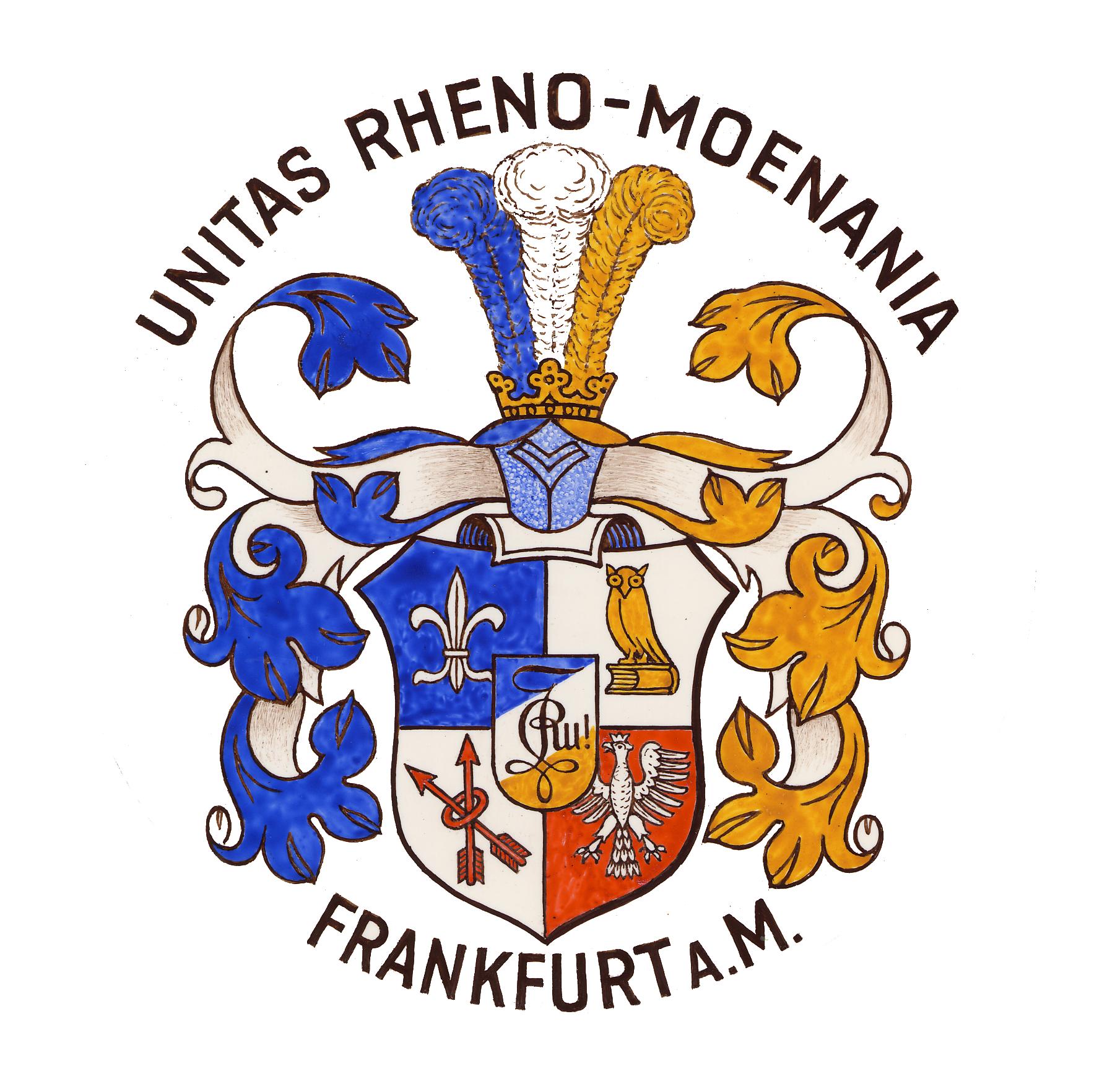 Unitas Rheno-Moenania-Moenania Wappen